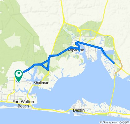 Wright to Niceville & back