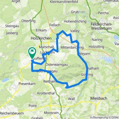 Hartpenning  -um Taubenberg - Valley - Gotzing - Warngau - HP