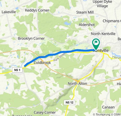 503 Main St, Kentville to 503 Main St, Kentville
