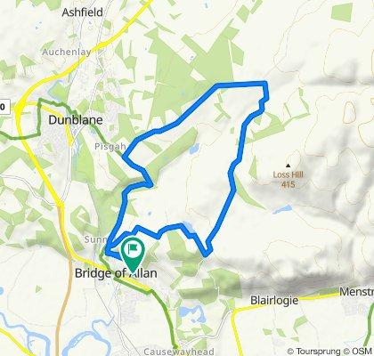 5 Kenilworth Road, Stirling to 5 Kenilworth Road, Stirling