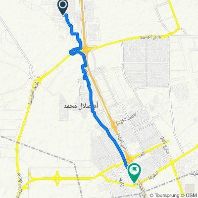 أم صلال عل to Wadi Al Askar, Ar-Rayyan