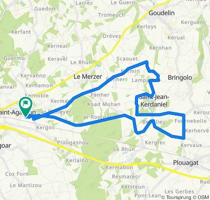 circuit route 25 km