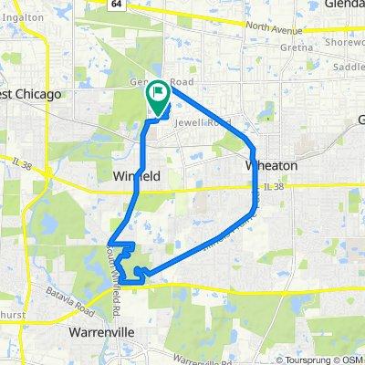 27W266 Oakwood St, Winfield to 27W266 Oakwood St, Winfield