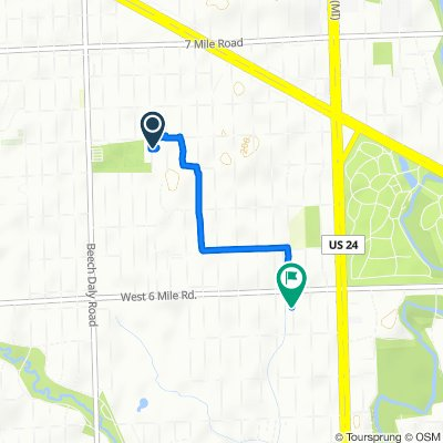 18274 Lennane St, Redford to 16895 Lenore Ave, Detroit