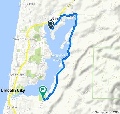 3400–3498 NE 40th Ct, Lincoln City to Devils Lake State Park, Lincoln City