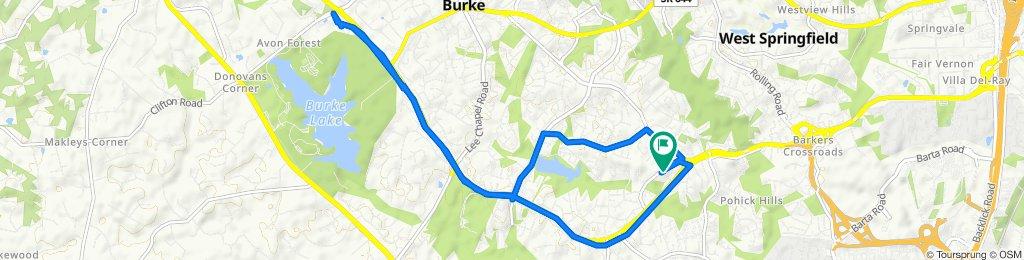 8531–8545 Hooes Rd, Springfield to 8531 Hooes Rd, Springfield