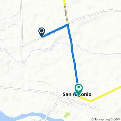 Unnamed Road, San Antonio to San Marcelino - San Antonio - San Narciso Road