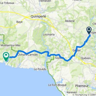 De 5 Impasse des Acacias, Pont-Scorff à 24bis Rue du Port, Moëlan-sur-Mer