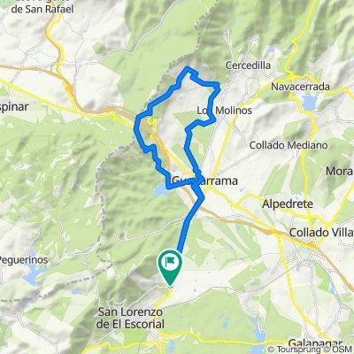 Circular San Lorenzo-Jarosa-Peñota-Los Molinos