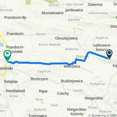 Steady ride in Słomniki