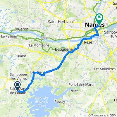 Rue Saint-Médard 4, Saint-Mars-de-Coutais to Gare Nord, Nantes