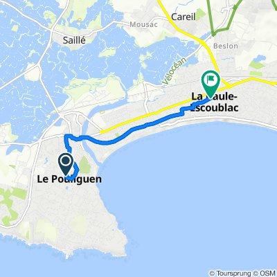 De 12 Allée des Courlis, Le Pouliguen à 22 Avenue des Ibis, La Baule-Escoublac
