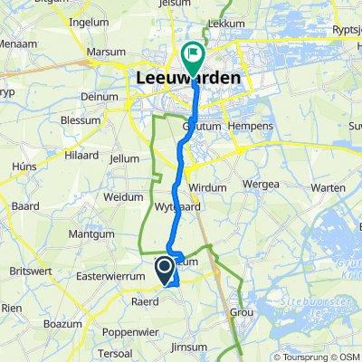 Tsienzerbuorren 5–7, Reduzum naar Nieuwestad 150, Leeuwarden