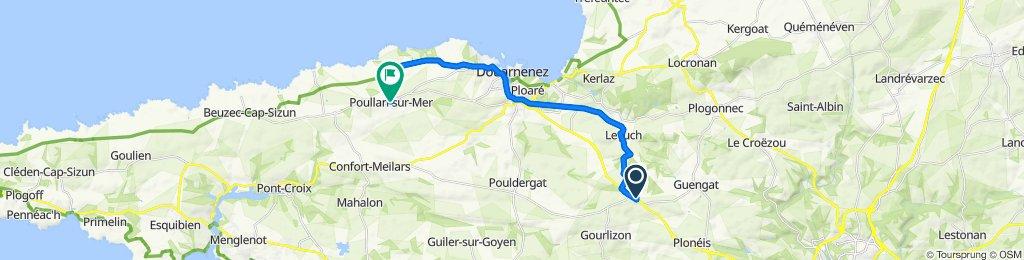 De 148–149 Coadou, Le Juch à Place de Bel-Air, Poullan-sur-Mer