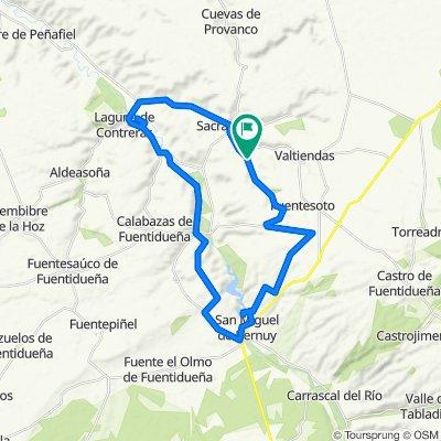 Pecharromán, San Miguel, la villa, los valles, sacra, Pecharromán