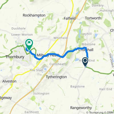 Bristol Road, Wotton-under-Edge to 72 Primrose Drive, Bristol