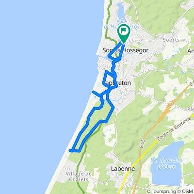 Balade VTT landaise : entres pistes cyclables et chemins forestiers