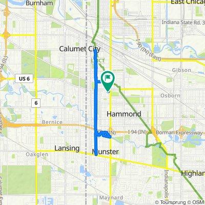 6530 Jefferson Ave, Hammond to 6534 Jefferson Ave, Hammond
