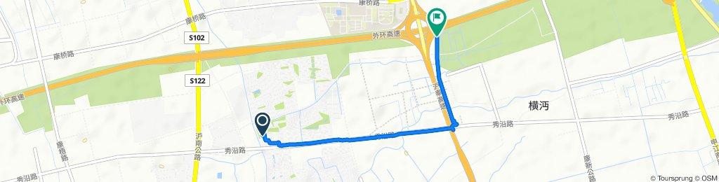 Kang Shen Lu 438 to Wai Huan Luo Shan Lu Li Jiao Qiao