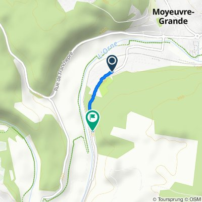 De Route de Joeuf, Moyeuvre-Grande à D11, Montois-la-Montagne