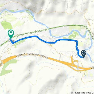 Route to 801 US-40, Verdi
