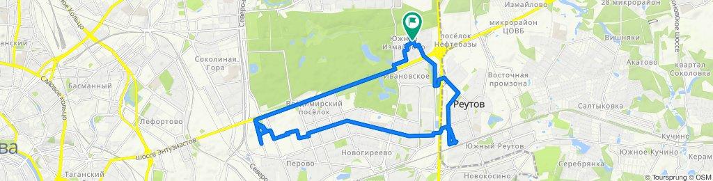Велоездки летние августовские  Реутов - Перово - Шоссе Энтузиастов17 08 2020