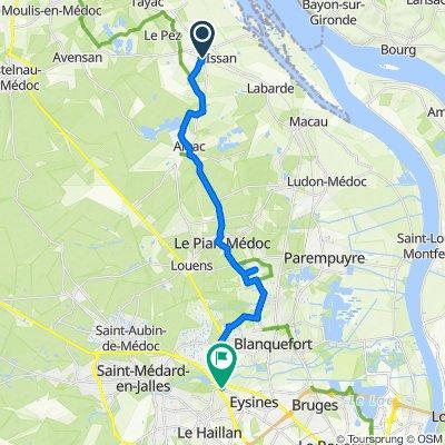 De 4 Rue Michel de Montaigne, Margaux à 332 Avenue du Taillan-Médoc, Eysines