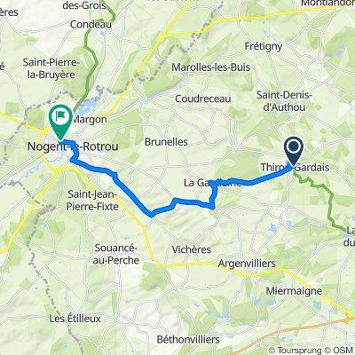 Thiron-Gardais / Nogent-le-Rotrou