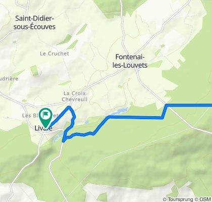 De La Coudraie, Livaie à 5 Le Bourg, Livaie