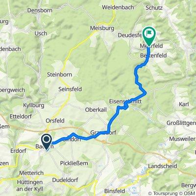 In der Langwies 7, Badem nach Meerbachstraße 13, Meerfeld