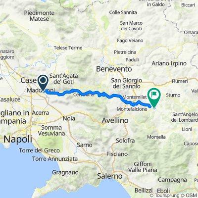 Da Via Vallone 12, Maddaloni a Unnamed Road, Paternopoli
