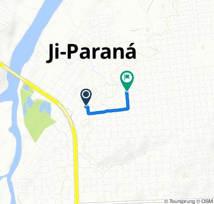 De Rua Maringá, 137, Ji-Paraná a Avenida Triângulo Mineiro, 1938, Ji-Paraná