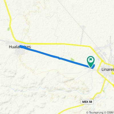 De Camino de Hualahuises 310, Linares a Camino de Hualahuises 310, Linares