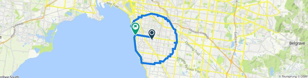 5km Radius Ride