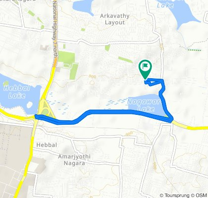 148, Lakeview Road, Bengaluru to 148, Lakeview Road, Bengaluru