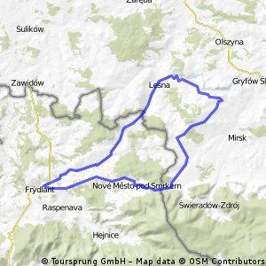Polské přehrady a zámek Czocha