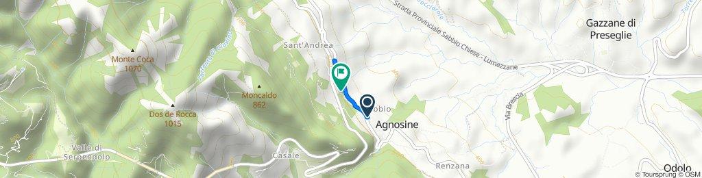 Easy ride in Agnosine