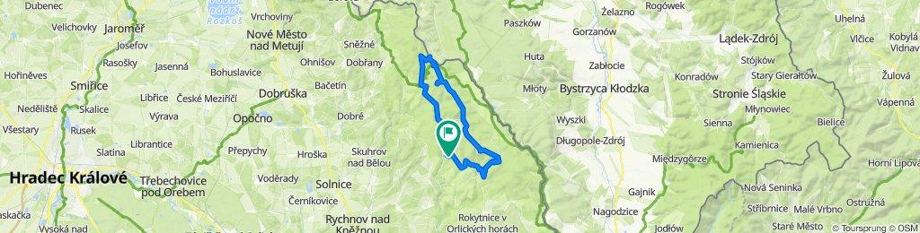 Zdobnice - Velka Destna - 44 km