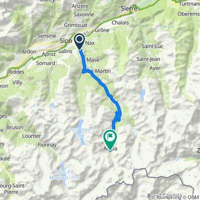 Vex-Arolla 31 km (1.250 hm)