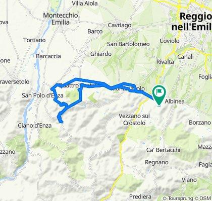 Sporty route in Cortina d'Ampezzo