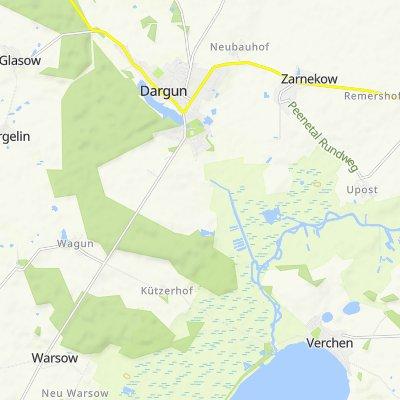 Lerchenweg 14, Dargun nach Aalbude 2, Dargun