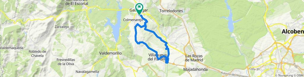 Galapagar- V. Pardillo- Colmenarejo- Galapagar