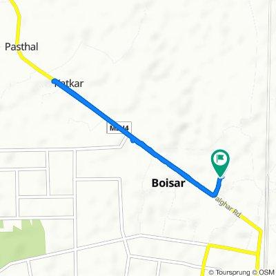 Boisar to Boisar