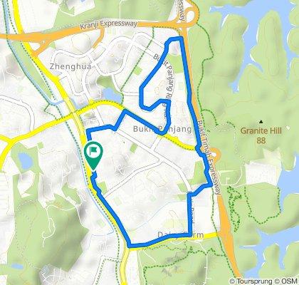 802 Upper Bukit Timah Road, Bukit Panjang to 802 Upper Bukit Timah Road, Bukit Panjang