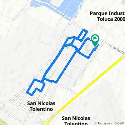 De Hacienda El Rosario, San Nicolás Tolentino a Hacienda El Rosario, San Nicolás Tolentino