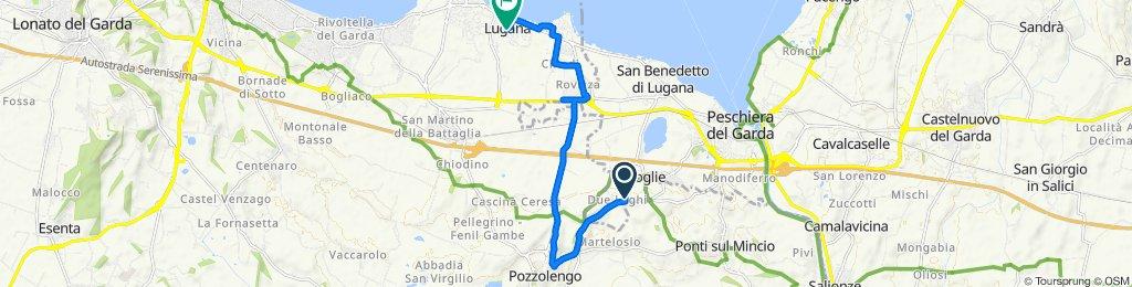 Da Via Boschetti 4A a Via Cialdini 46, Sirmione