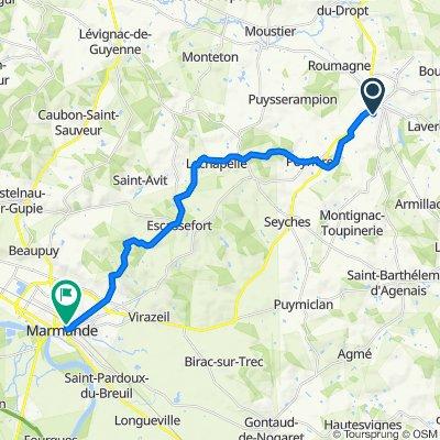 De 276 Avenue du 8 Mai 1945, Miramont-de-Guyenne à 6 Place du 11 Novembre 1918, Marmande