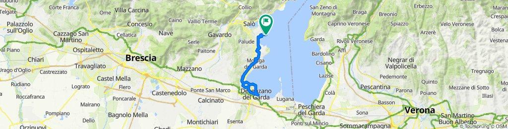 Via San Fermo, San Felice del Benaco nach Via Fornella 1, San Felice del Benaco