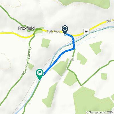 Bath Road, Marlborough to Oak Hill, Marlborough