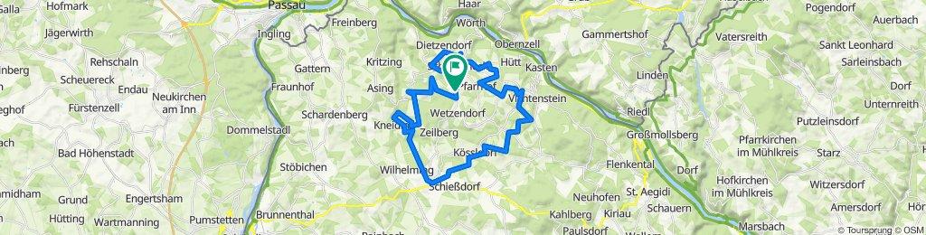 E*MTB 🇦🇹 Rundtour ein wirrwarr im Sauwald mit 🎥 04.09.20.